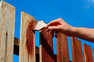 Jak odnowić drewniany płot?