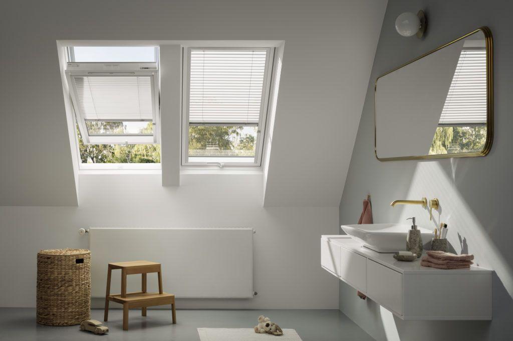 Velux okna dachowe markizy słoneczne BAT