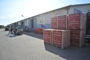 Przechowywanie materiałów budowlanych